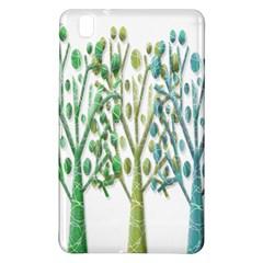Magical Green Trees Samsung Galaxy Tab Pro 8 4 Hardshell Case by Valentinaart