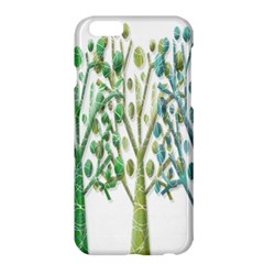Magical Green Trees Apple Iphone 6 Plus/6s Plus Hardshell Case by Valentinaart