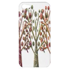 Magical Autumn Trees Apple Iphone 5 Hardshell Case by Valentinaart