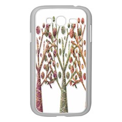 Magical Autumn Trees Samsung Galaxy Grand Duos I9082 Case (white) by Valentinaart