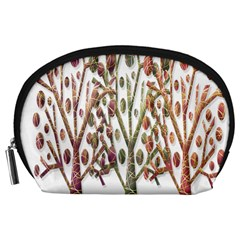 Magical Autumn Trees Accessory Pouches (large)  by Valentinaart