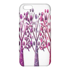 Magical pink trees iPhone 6/6S TPU Case by Valentinaart