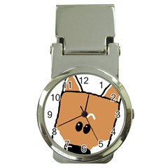 Peeping Shiba Money Clip Watches by TailWags