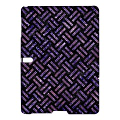 Woven2 Black Marble & Purple Marble Samsung Galaxy Tab S (10 5 ) Hardshell Case  by trendistuff