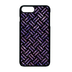 WOV2 BK-PR MARBLE Apple iPhone 7 Plus Seamless Case (Black) by trendistuff