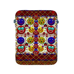 Smile And The Whole World Smiles  On Apple Ipad 2/3/4 Protective Soft Cases by pepitasart
