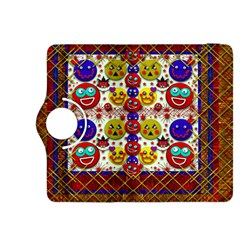 Smile And The Whole World Smiles  On Kindle Fire Hdx 8 9  Flip 360 Case by pepitasart