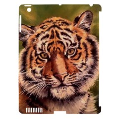 Tiger Cub Apple Ipad 3/4 Hardshell Case (compatible With Smart Cover) by ArtByThree