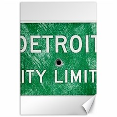 Detroit City Limits Canvas 20  X 30   by DetroitCityLimits