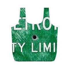 Detroit City Limits Full Print Recycle Bags (m)