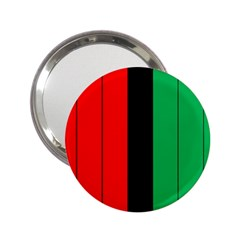 Kwanzaa Colors African American Red Black Green  2 25  Handbag Mirrors by yoursparklingshop