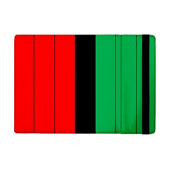 Kwanzaa Colors African American Red Black Green  Apple Ipad Mini Flip Case by yoursparklingshop