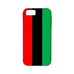 Kwanzaa Colors African American Red Black Green  Apple Iphone 5 Classic Hardshell Case (pc+silicone) by yoursparklingshop