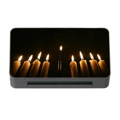 Hanukkah Chanukah Menorah Candles Candlelight Jewish Festival Of Lights Memory Card Reader With Cf by yoursparklingshop
