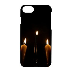 Hanukkah Chanukah Menorah Candles Candlelight Jewish Festival Of Lights Apple Iphone 7 Hardshell Case by yoursparklingshop