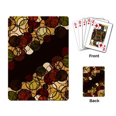 Autumn Bubbles Playing Card by Valentinaart