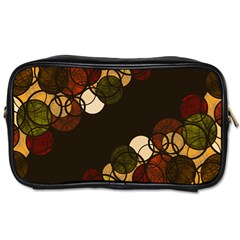 Autumn Bubbles Toiletries Bags by Valentinaart