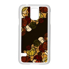 Autumn Bubbles Samsung Galaxy S5 Case (white) by Valentinaart