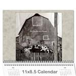 2017 Lois  Calendar  - Wall Calendar 11  x 8.5  (12-Months)