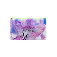 Magic Leaves Cosmetic Bag (xs) by Brittlevirginclothing