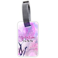 Magic Leaves Luggage Tags (two Sides) by Brittlevirginclothing