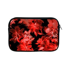 Red Flower  Apple Ipad Mini Zipper Cases by Brittlevirginclothing