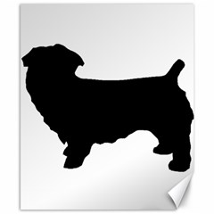 Glen Of Imaal Terrier Silo Canvas 8  x 10  by TailWags