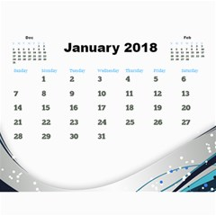 Jane Calendar By Deborah   Wall Calendar 11  X 8 5  (12 Months)   Ddmtig1wueiw   Www Artscow Com Jan 2018