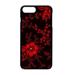 Small Red Roses Apple iPhone 7 Plus Seamless Case (Black)