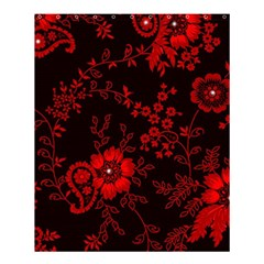 Small Red Roses Shower Curtain 60  X 72  (medium)  by Brittlevirginclothing