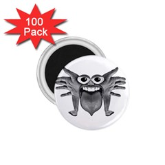 Body Part Monster Illustration 1 75  Magnets (100 Pack)  by dflcprints