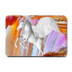 Pegasus Small Doormat  by icarusismartdesigns
