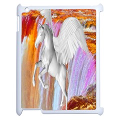 Pegasus Apple Ipad 2 Case (white) by icarusismartdesigns
