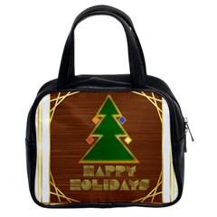 Art Deco Holiday Card Classic Handbags (2 Sides) by Amaryn4rt