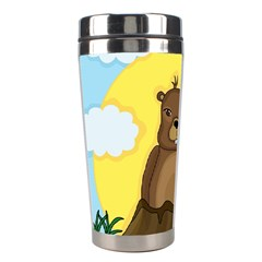 Groundhog Day  Stainless Steel Travel Tumblers by Valentinaart