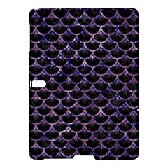 Scales3 Black Marble & Purple Marble Samsung Galaxy Tab S (10 5 ) Hardshell Case  by trendistuff