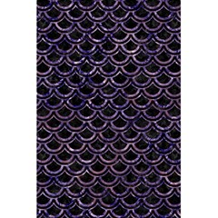 Scales2 Black Marble & Purple Marble 5 5  X 8 5  Notebook by trendistuff