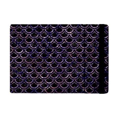 Scales2 Black Marble & Purple Marble Apple Ipad Mini 2 Flip Case by trendistuff