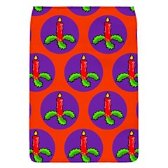 Christmas Candles Seamless Pattern Flap Covers (s)  by Amaryn4rt