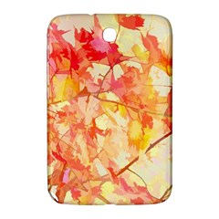 Monotype Art Pattern Leaves Colored Autumn Samsung Galaxy Note 8 0 N5100 Hardshell Case  by Amaryn4rt