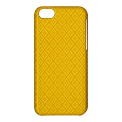 Yellow Flower Apple Iphone 5c Hardshell Case by AnjaniArt