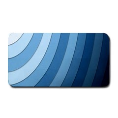Blue Wave Medium Bar Mats by AnjaniArt