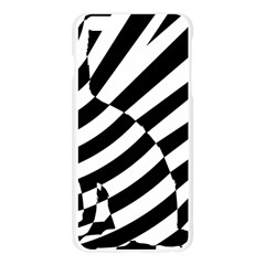 Casino Cat Ready For Scratching Black Apple Seamless iPhone 6 Plus/6S Plus Case (Transparent) by AnjaniArt