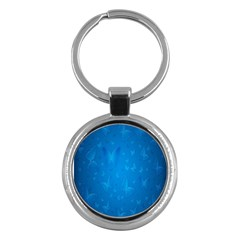 Butterflies Blue Butterfly Key Chains (round)  by AnjaniArt