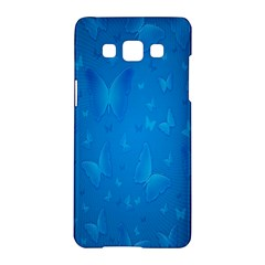 Butterflies Blue Butterfly Samsung Galaxy A5 Hardshell Case  by AnjaniArt