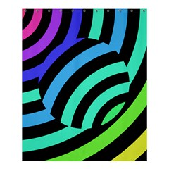 Colorful Roulette Ball Shower Curtain 60  X 72  (medium)  by AnjaniArt