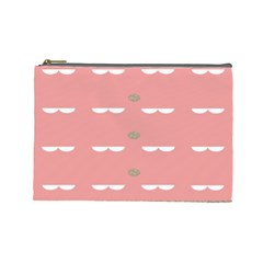 Cool Rose Cosmetic Bag (large)  by AnjaniArt