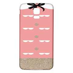 Cool Rose Samsung Galaxy S5 Back Case (White) by AnjaniArt