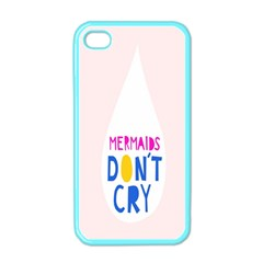 Dont Crt Fun Mermaids Pink Apple Iphone 4 Case (color)