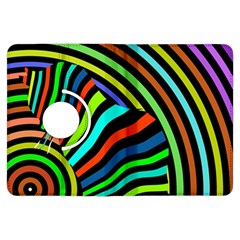 Colorful Cat Kindle Fire Hdx Flip 360 Case by AnjaniArt